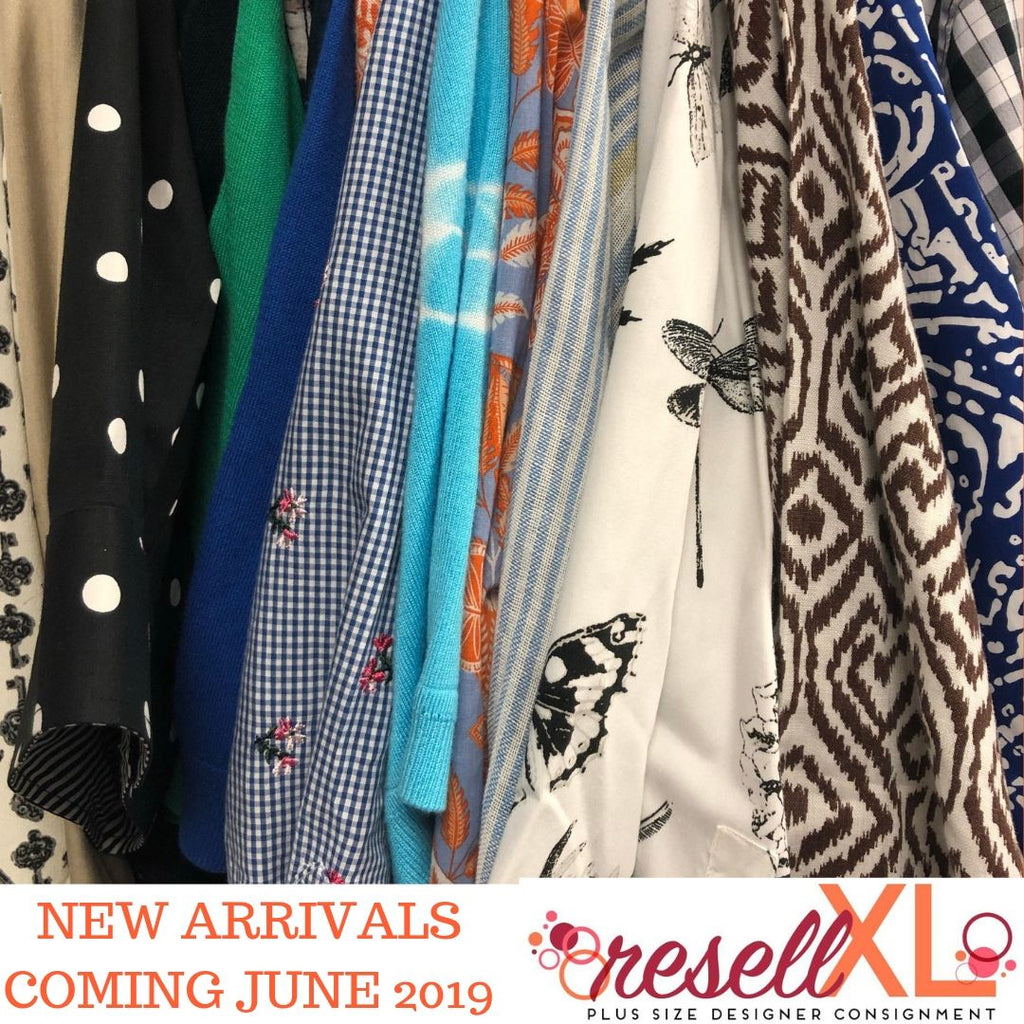 New Arrivals Coming June 2019
