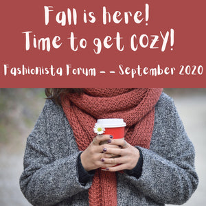 FALL IS HERE! TIME TO GET COZY!