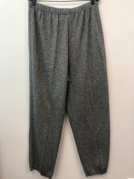 Joan Vass Size 3XL Grey Cotton Pants
