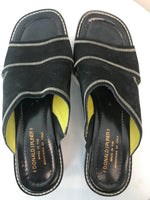 Donald J Pliner Size 10 Black Sandals