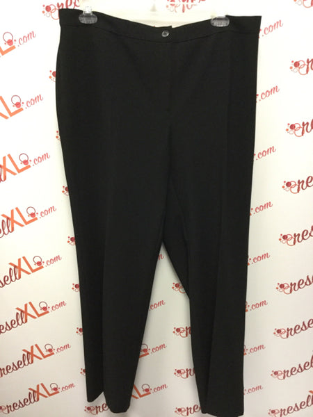Marina Rinaldi Size XL Black Slacks