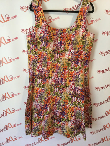 Jones New York Size 18W Floral Printed Dress