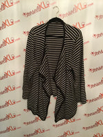 Talbots Size 3X Navy Striped Sweater