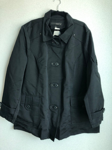 Venezia Size 26/28 Black Jacket