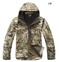 Stalker Soft Shell Waterproof & Windproof Fleece Hooded Jacket - Multicam