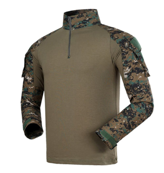 Gen 3 Long Sleeve Combat Shirt Digital Woodland