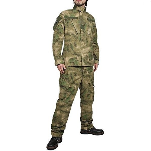 A-TACS FG BDU Combat Pants + Jacket Set 65/35 Poly/Cotton Rip Stop