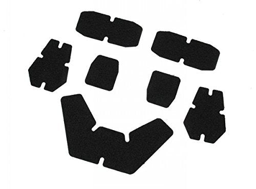 DLP Tactical Enhanced Hook and Loop Fastener Set for Crye AirFrame Helmet