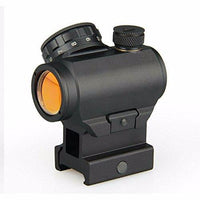 "DLP Tactical HD5411 Picatinny Mount Micro Red Dot Sight with 1"" Riser Mount"