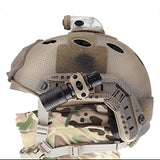 "Rotating 1"" Flashlight Mount for ARC Rail equipped Helmet"