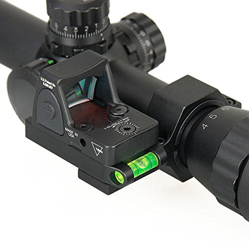 "DLP Tactical 1"" / 25mm / 30mm Scope Ring Adaptor with bubble level for RMR / Aimpoint T1 T2 / Docter Sight"