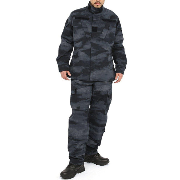 A-TACS LE BDU Combat Pants + Jacket Set 65/35 Poly/Cotton Rip Stop