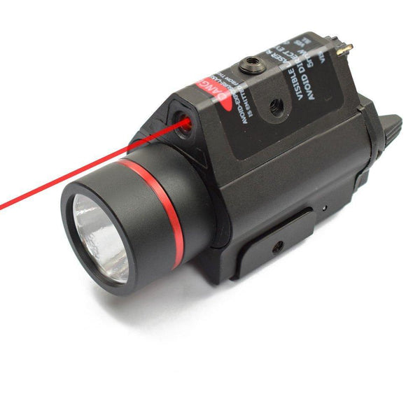 DLP Tactical M6 200 Lumen LED Weapon Light + Laser