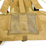 DLP Tactical RRV Chest Rig MOLLE Vest with Four Pouches