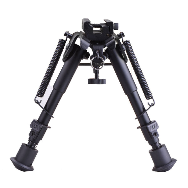 "DLP Tactical Spring Eject 6"" Picatinny Rail Mount Bipod"