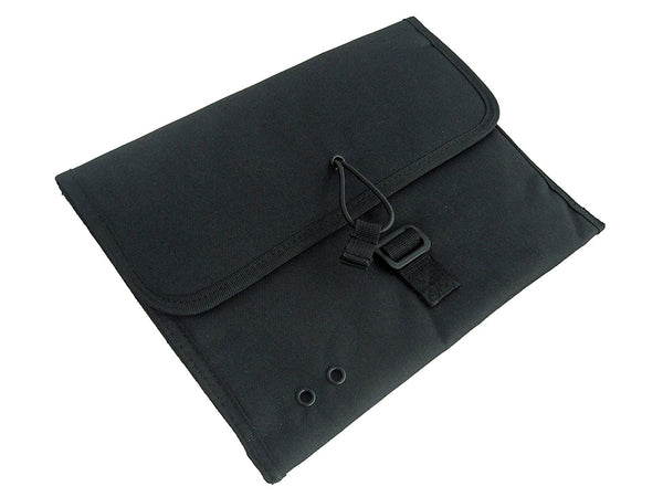 "DLP Tactical MOLLE iPad Sleeve Case Delta Black (Fits Most Other Tablets / Netbooks Up To 12"" Diagonal Screen)"