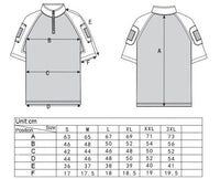 Gen 3 Short Sleeve Combat Shirt AOR1 Digital Desert