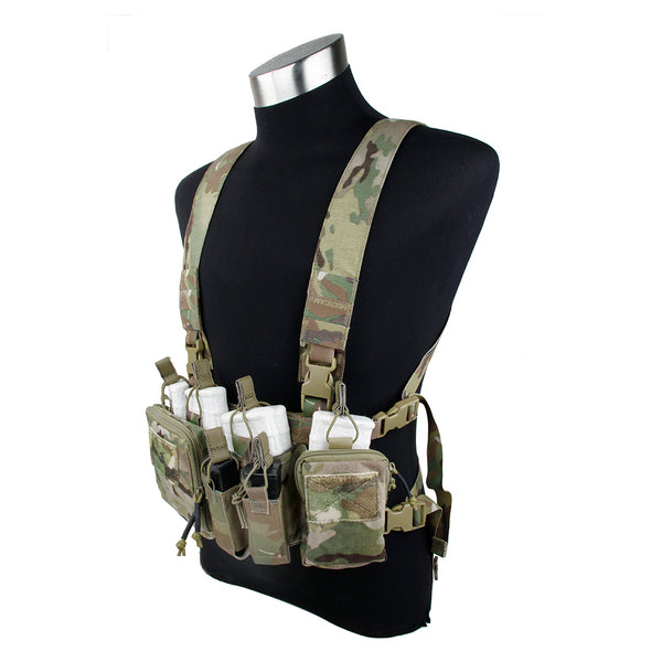D3 Heavy Universal Chest Rig for SCAR-H / M14 / FAL / SR25 / etc.