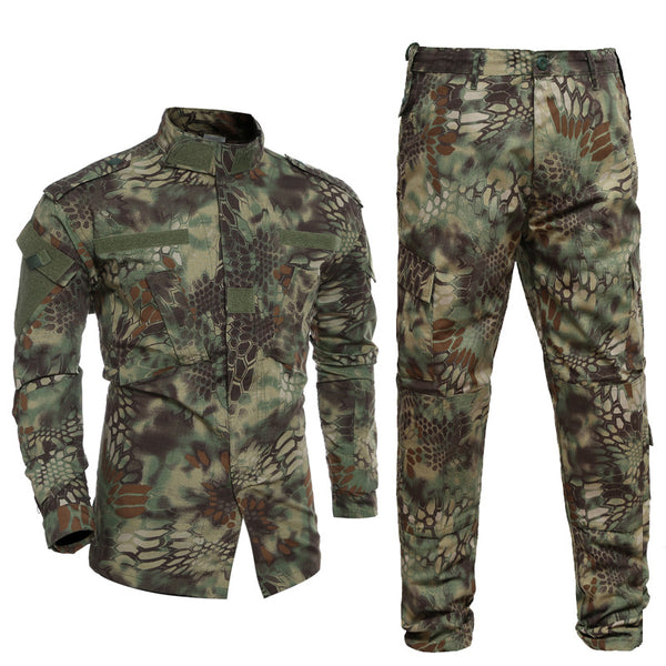 Kryptek Mandrake BDU Combat Pants + Jacket Set 65/35 Poly/Cotton Rip Stop
