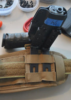 DLP Tactical Universal Holster/ Knife Sheath Molle Attachment Molle-Lok Tek-Lok