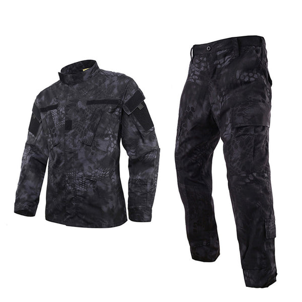 Kryptek Typhon BDU Combat Pants + Jacket Set 65/35 Poly/Cotton Rip Stop
