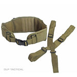 DLP Tactical MOLLE Battle Belt with Suspenders