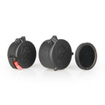 40mm Rifle Scope Metal Killflash Lens Protector + Push Button Flip Cover Caps