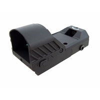 DLP Tactical Push Button Adjustable Brightness Miniature Red Dot Sight