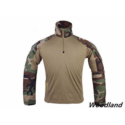 Gen 3 Long Sleeve Combat Shirt Woodland