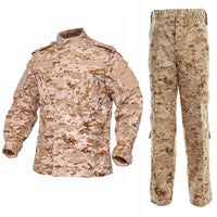 AOR1 Digital Desert BDU Combat Pants + Jacket Set 65/35 Poly/Cotton Rip Stop