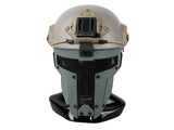 Quick Release Polymer & Steel Full Face Mask for ARC Rail Equipped FAST / ACH / MICH Combat Helmet