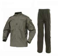 OD Green BDU Combat Pants + Jacket Set 65/35 Poly/Cotton Rip Stop