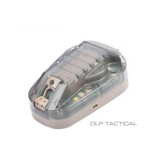 DLP Tactical 6 Gen 3 IR + Visible LED Strobe Emergency Helmet Mounted IFF Marker Light
