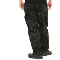 Multicam Black BDU Combat Pants + Jacket Set 65/35 Poly/Cotton Rip Stop