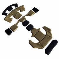 DLP Tactical ImpaX Ultimate Pad Set For MICH / OPS-Core / ACH / AirFrame Helmet