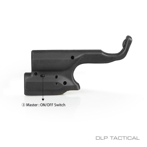 DLP Tactical Green Laser Sight for 1911 style pistols Colt