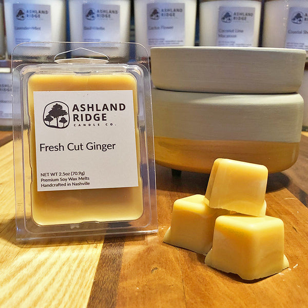 Fresh Cut Ginger Wax Melts