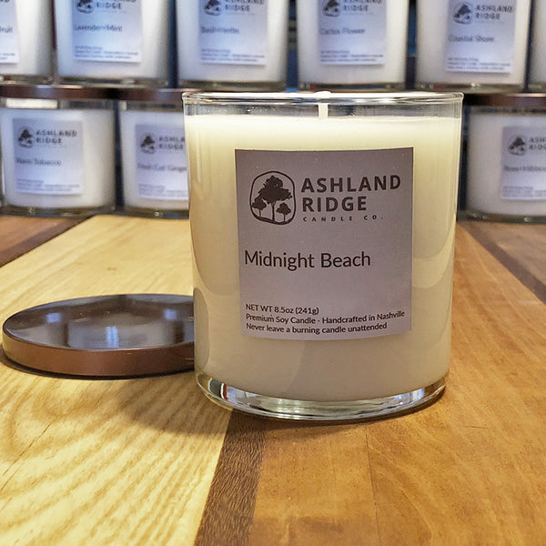 Midnight Beach Soy Tumbler