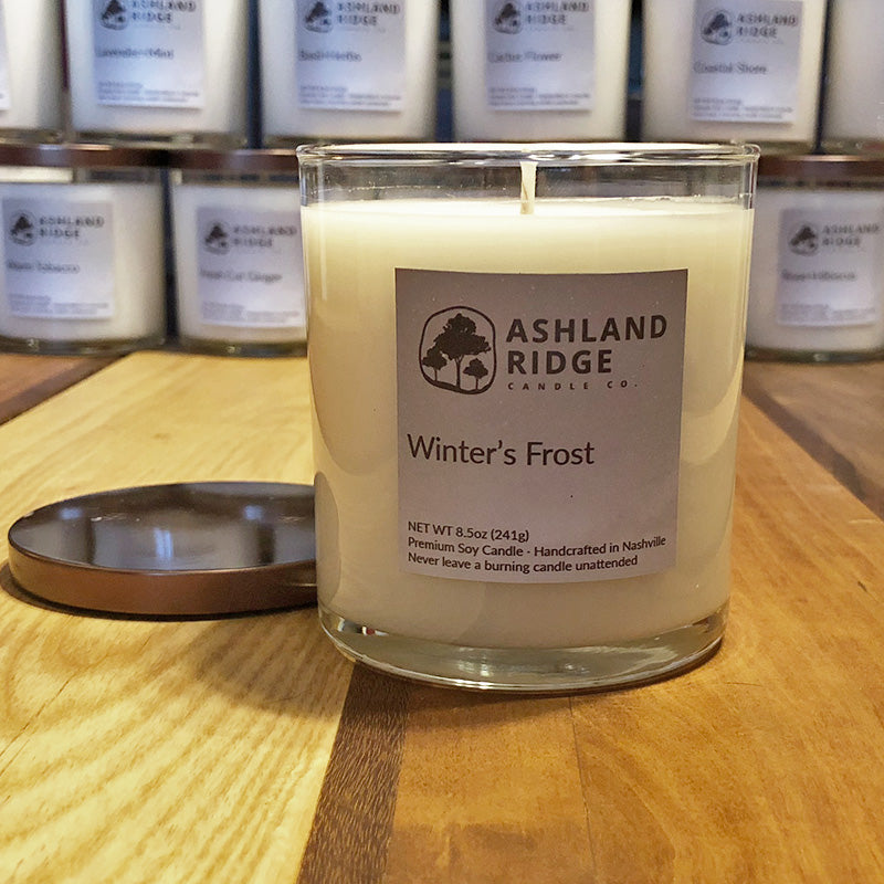 Winter's Frost Soy Tumbler