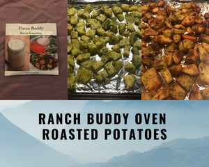 Roasted Ranch Seasoned Potatoes