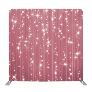 Pink Glitter Tension Fabric Backdrop