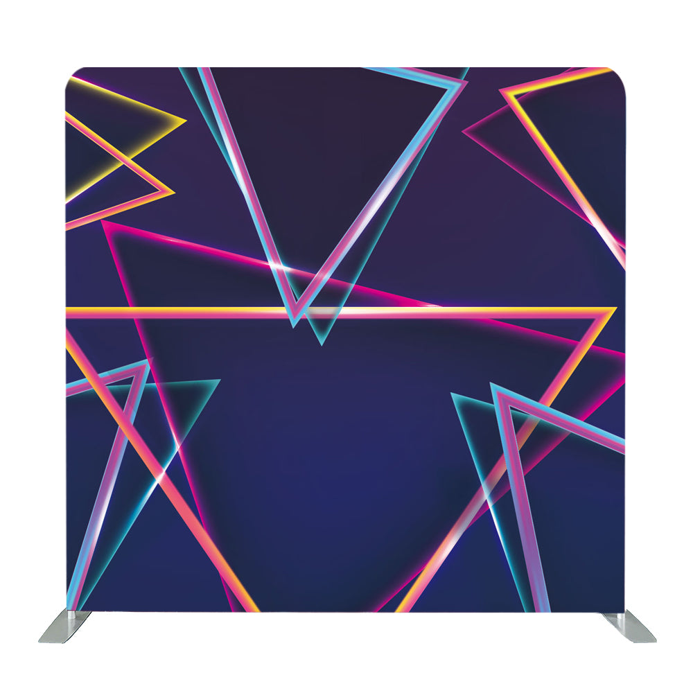 Colored Abstract Tension Fabric Backdrop