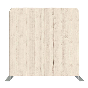 Light Wooden Wall Tension Fabric Backdrop