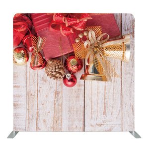 Christmas Decorations Tension Fabric Backdrop