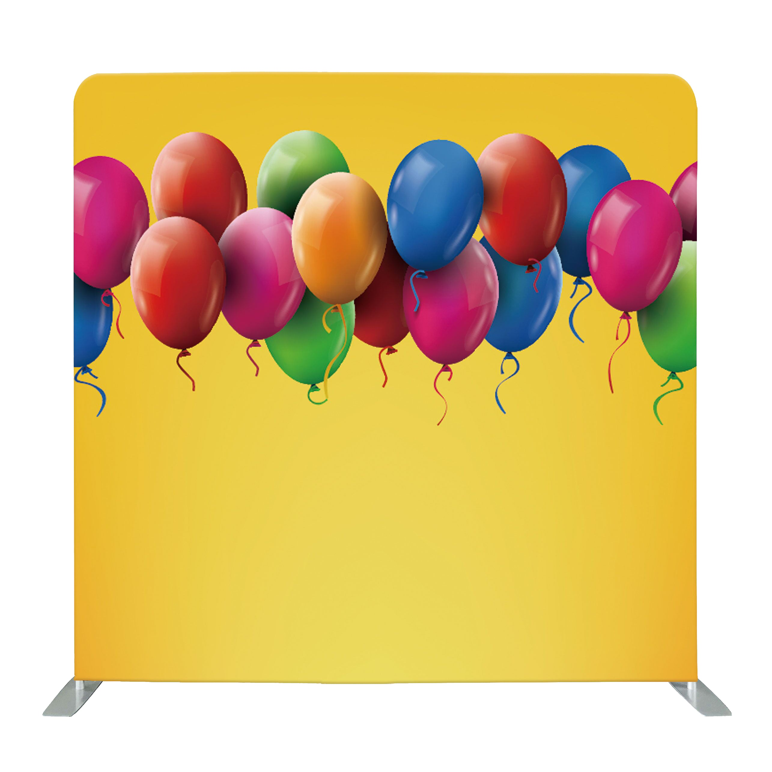 Birthday Balloon Tension Fabric Backdrop