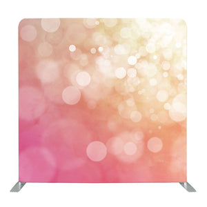 Abstract Light Pink Bokeh Tension Fabric Backdrop