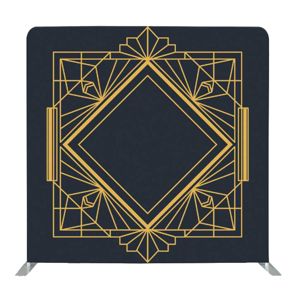 Art Deco Gatsby Geometric Tension Fabric Backdrop