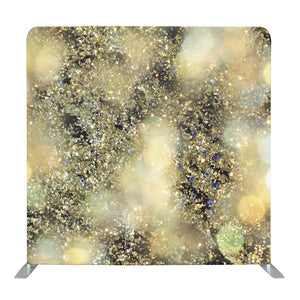 Gold Confetti Tension Fabric Backdrop