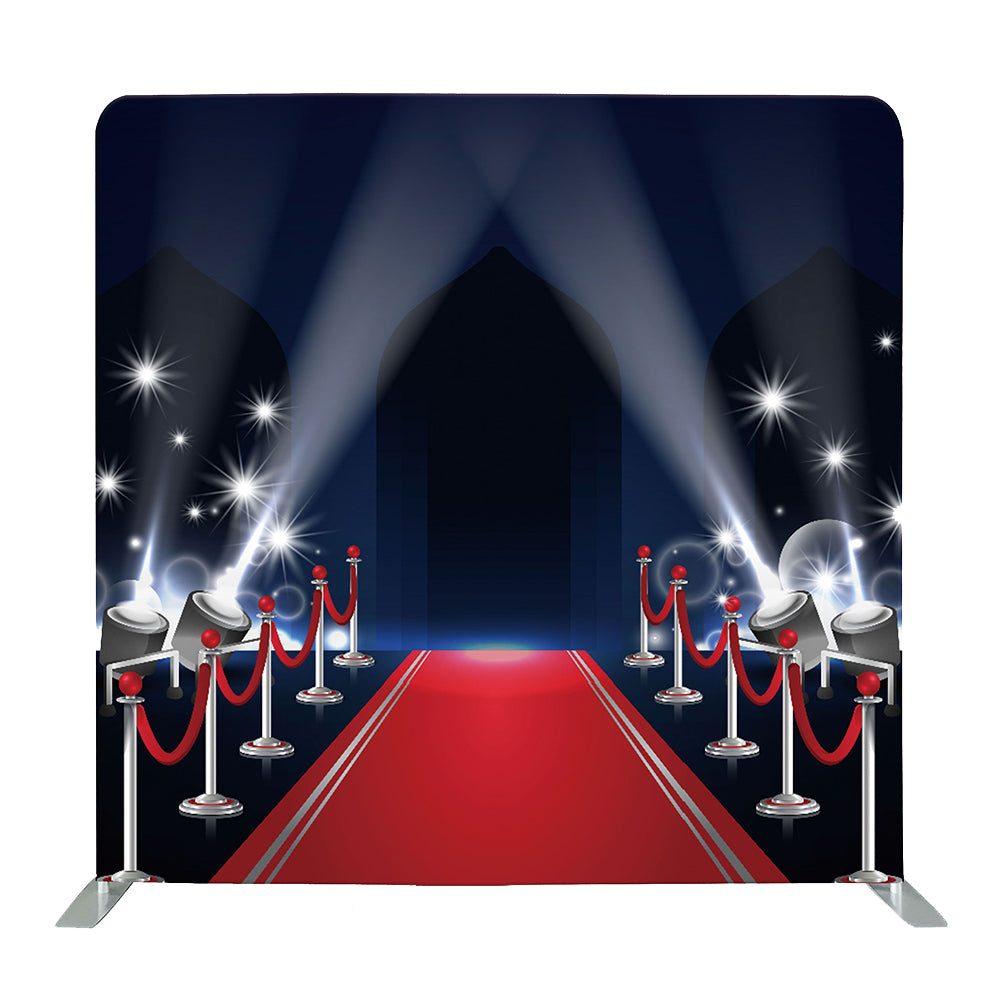 Oscars Red Carpet Tension Fabric Backdrop