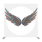 Wings Double Sided Printed Tension Backdrop Set (Frame included)